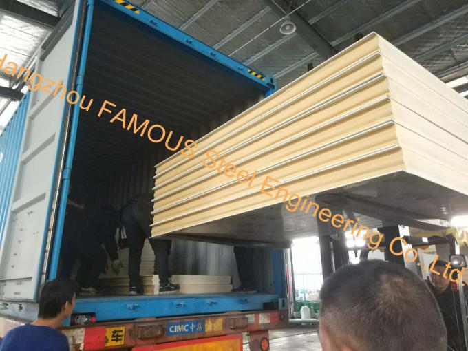 OEM Cold Storage Project Cold Storage Room Freezer Unit For Meat With PU Sandwich Panels
