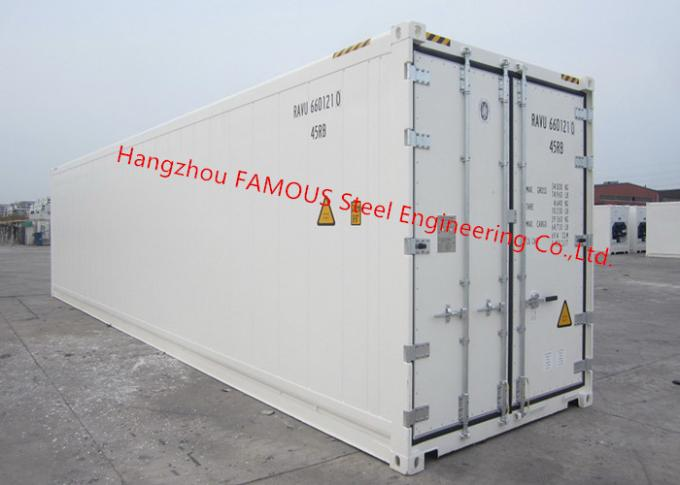 Movable Cold Storage Walk In Freezer Decoration Portable Chilled Container