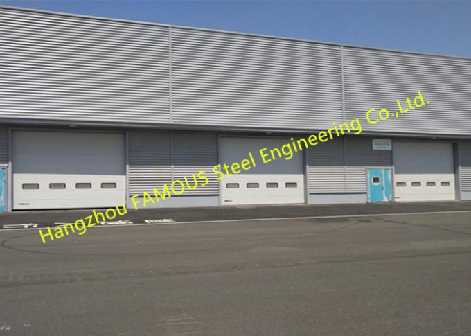 Commercial Overhead Sectional Sliding Industrial Garage Doors Factory Up Ward Fast Lifting Gate