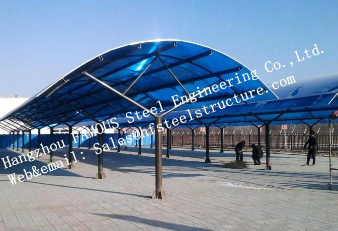 High Precision Prefabrication Industrial Steel Buildings Energy Saving Environmental Protection 0