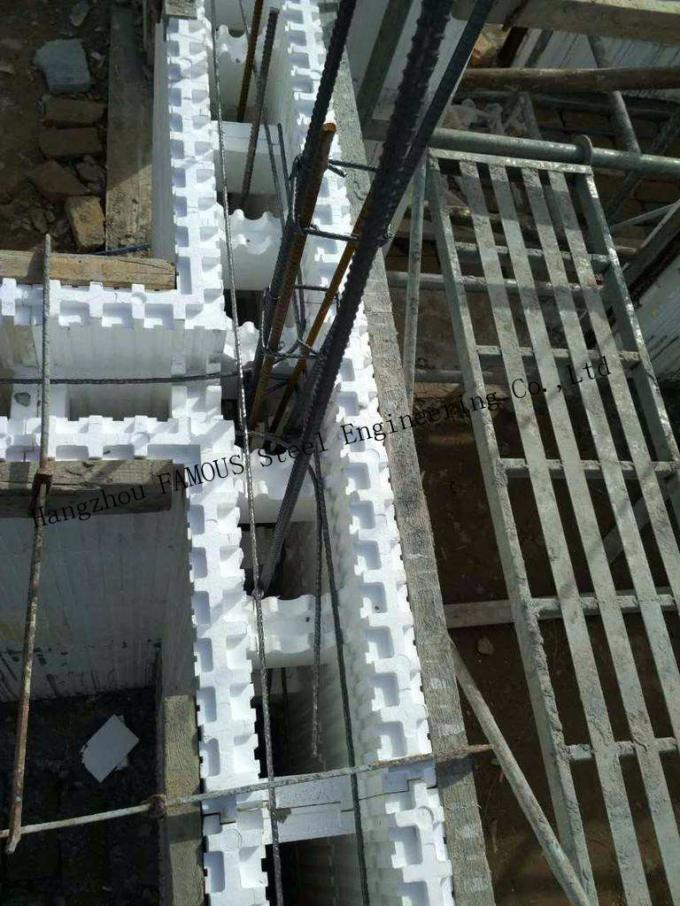 Green House Self Aligning Typical Assembly Insulated Concrete Forms ICFs Wall BuildBlocks 3