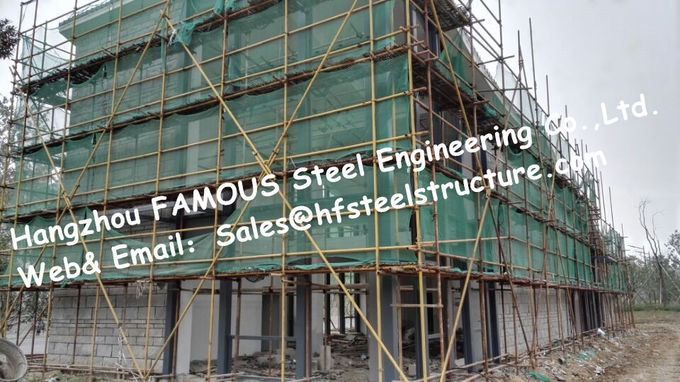 Industrial Residential Commercial Steel Buildings With H Shaped Beam