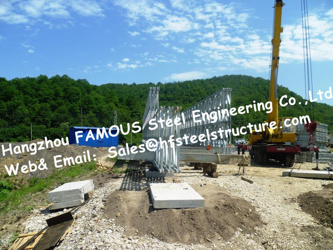 Steel Fabricator Supply Prefabricated Steel Structural Bailey Bridge Of Reinforced Steel Q345
