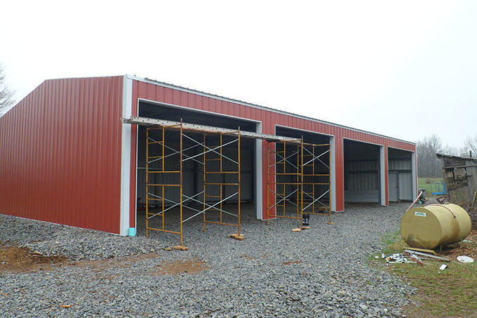 Chicken Poultry Shed Steel Construction and Animal Farm Building Steel Cow Shade