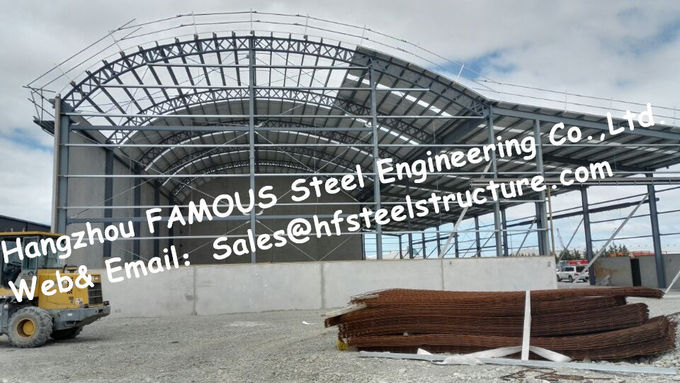Q345B Commercial Steel Buildings Shopping Center / Supermarket Complex EPC Construction
