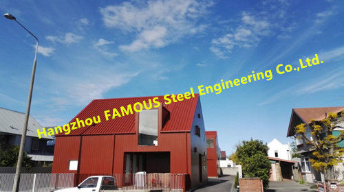 Modular Design Pre-Fabricated  Structural Steel Fabrication Quickly Assembled Construction
