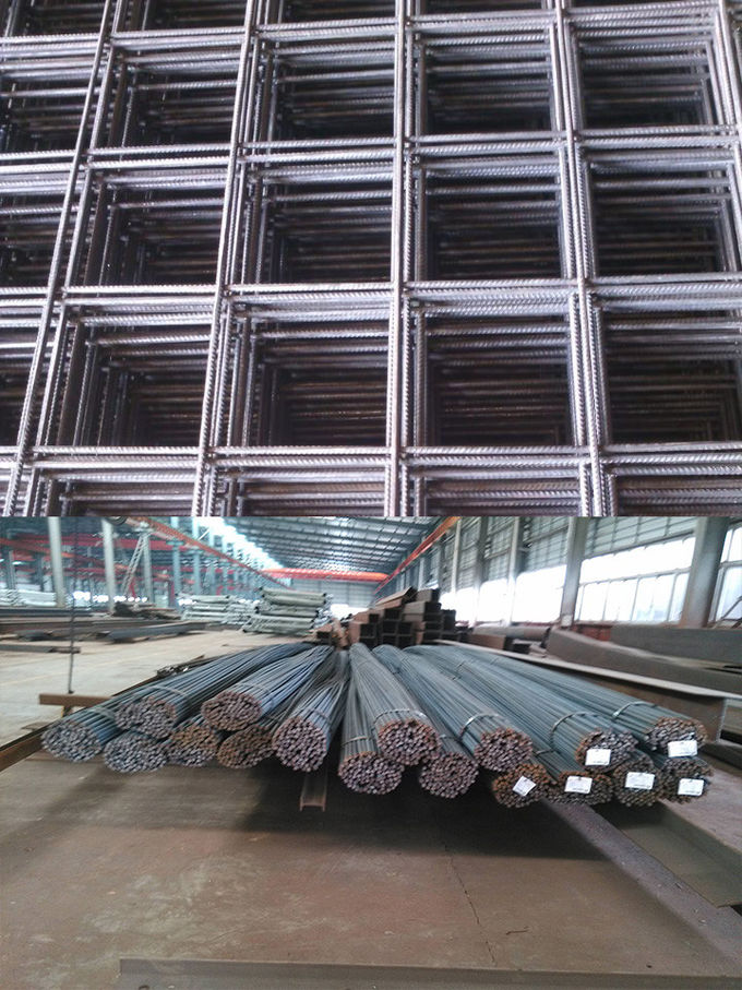 Prefabricated Reinforcing Steel Bar Rebar High Seismic Compressive Strength HRB 500E
