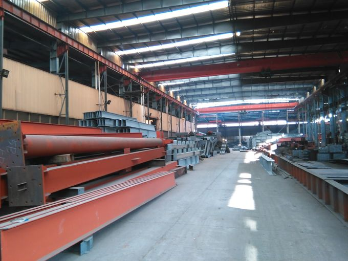 Prefabricated Warehouse Curved Roof Industrial Structural