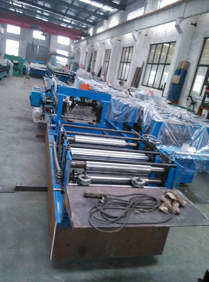 Steel Structure Cold Roll Forming Machine Automatic Change