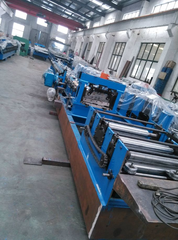 Interchange Roll Forming Machine , C Z Purlin Production Line For Steel Strip