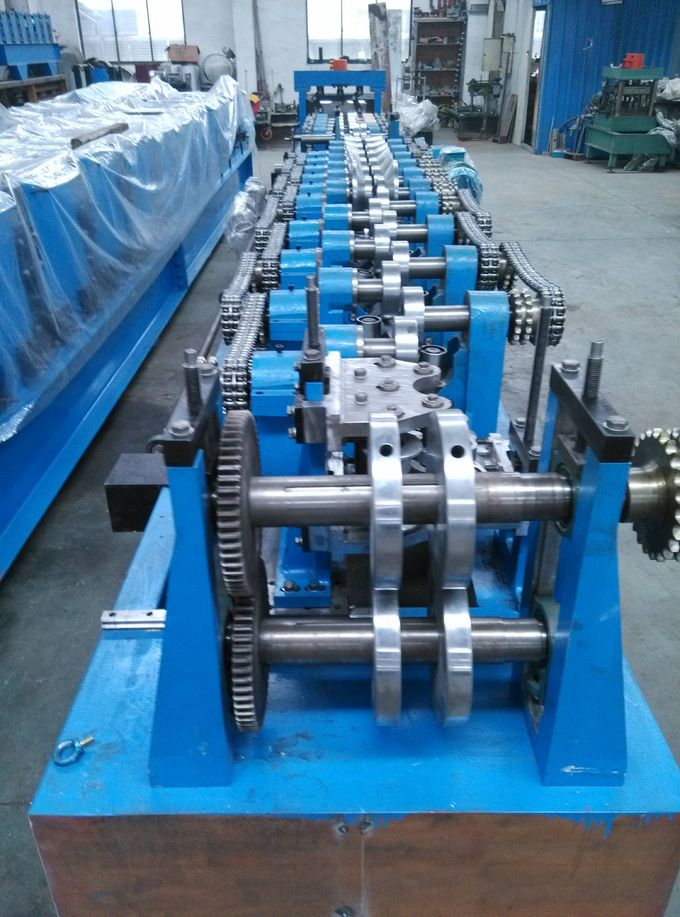 Solar Rack Cold Roll Forming Machine Q195 / Q235 Carbon Steel