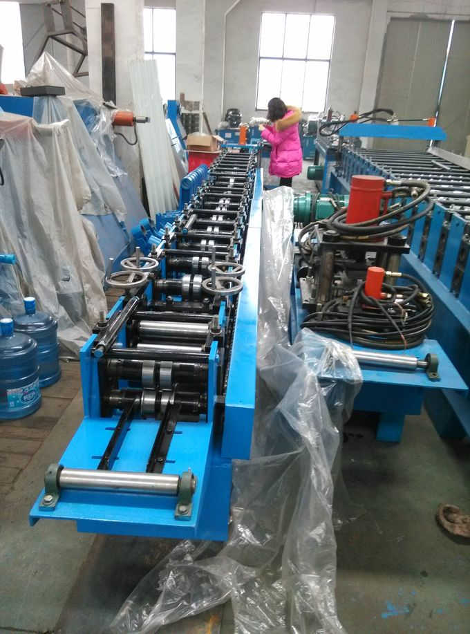 Hydraulic Cold Roll Forming Machine Solar Cell Panel Rack Easy Erection 1