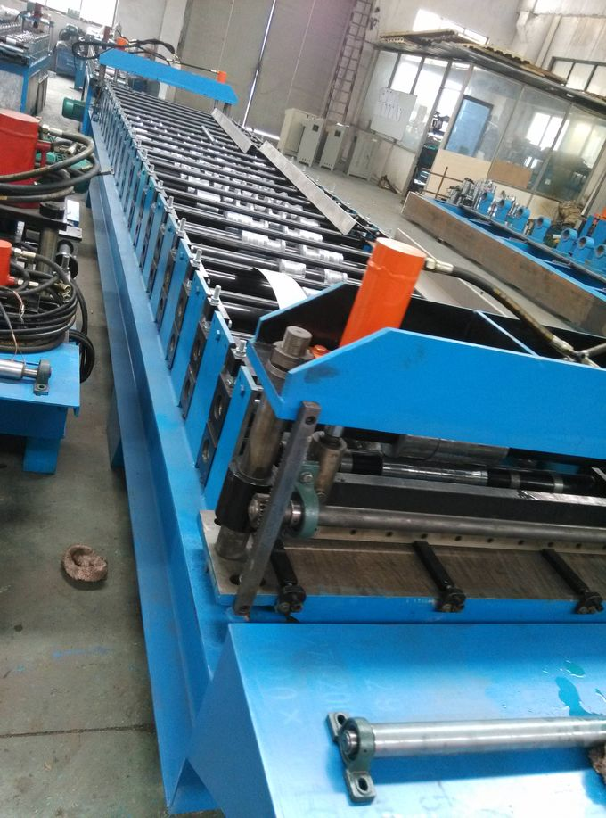 Hydraulic Cold Roll Forming Machine Solar Cell Panel Rack Easy Erection 0