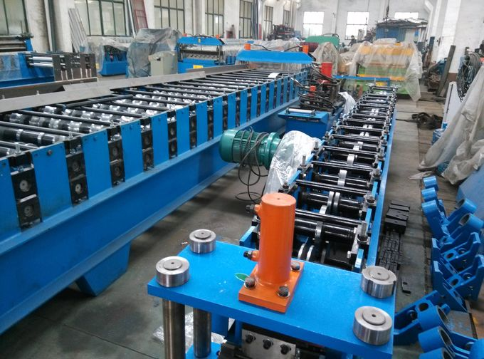 Color Roll Forming Machines Steel Metal Roofing Sheet For Roof Panel