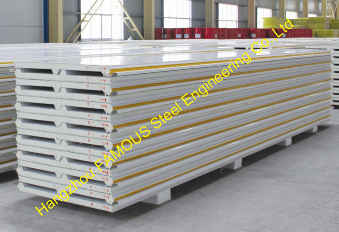 Heat Insulation Metal Roofing Sheets Eps Cement Sandwich