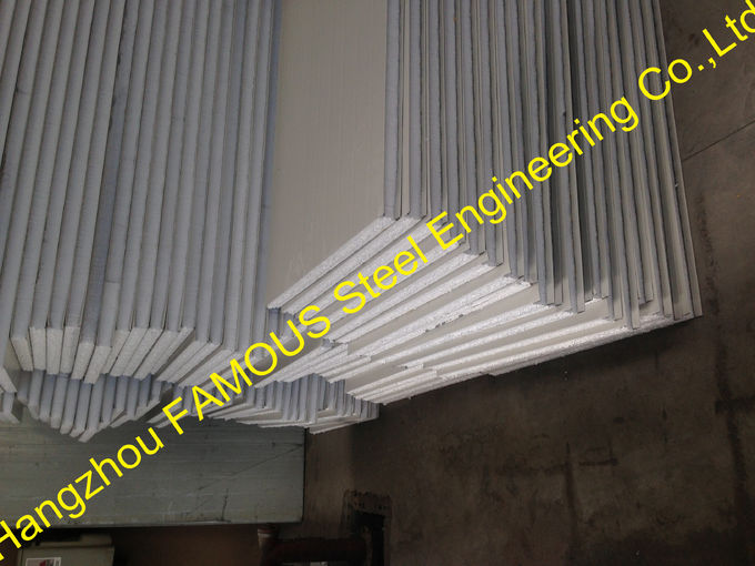 Building EPS Insulated Sandwich Panels Fireproof With Light Weight