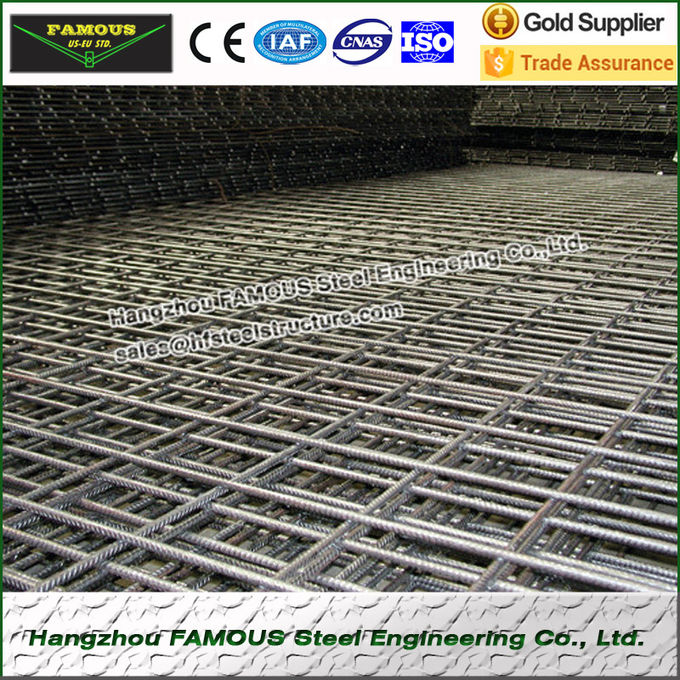 Non-galvanized Rebar Welded Wire Mesh Panels Hot-Rolled HRB 500E